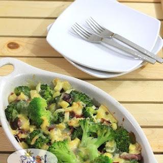 Cheesy Bake Broccoli.