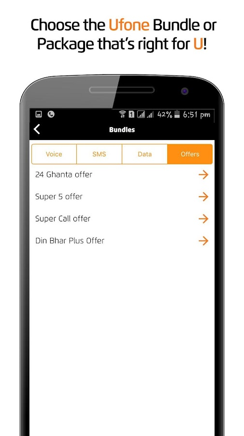 My Ufone- screenshot