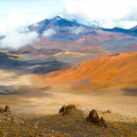 Haleakala by D. Bruce Gammie - Landscapes Travel ( haleakala, vacation, volcano, maui, summit )