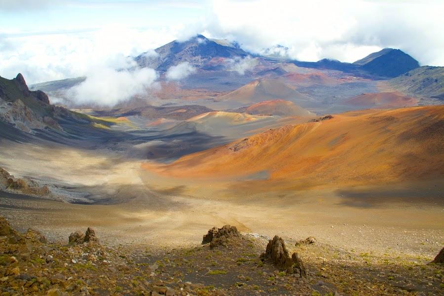 Haleakala by D. Bruce Gammie - Landscapes Travel ( haleakala, vacation, volcano, maui, summit )