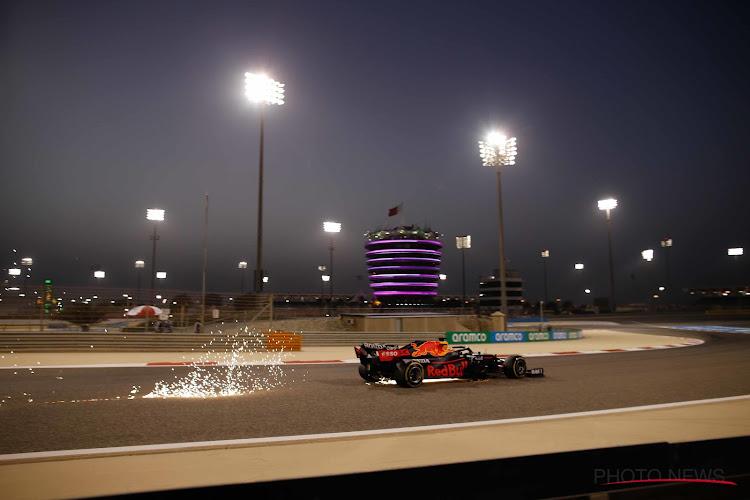 Verstappen doet het ook in de kwalificaties en is bijna vier tienden sneller dan Hamilton
