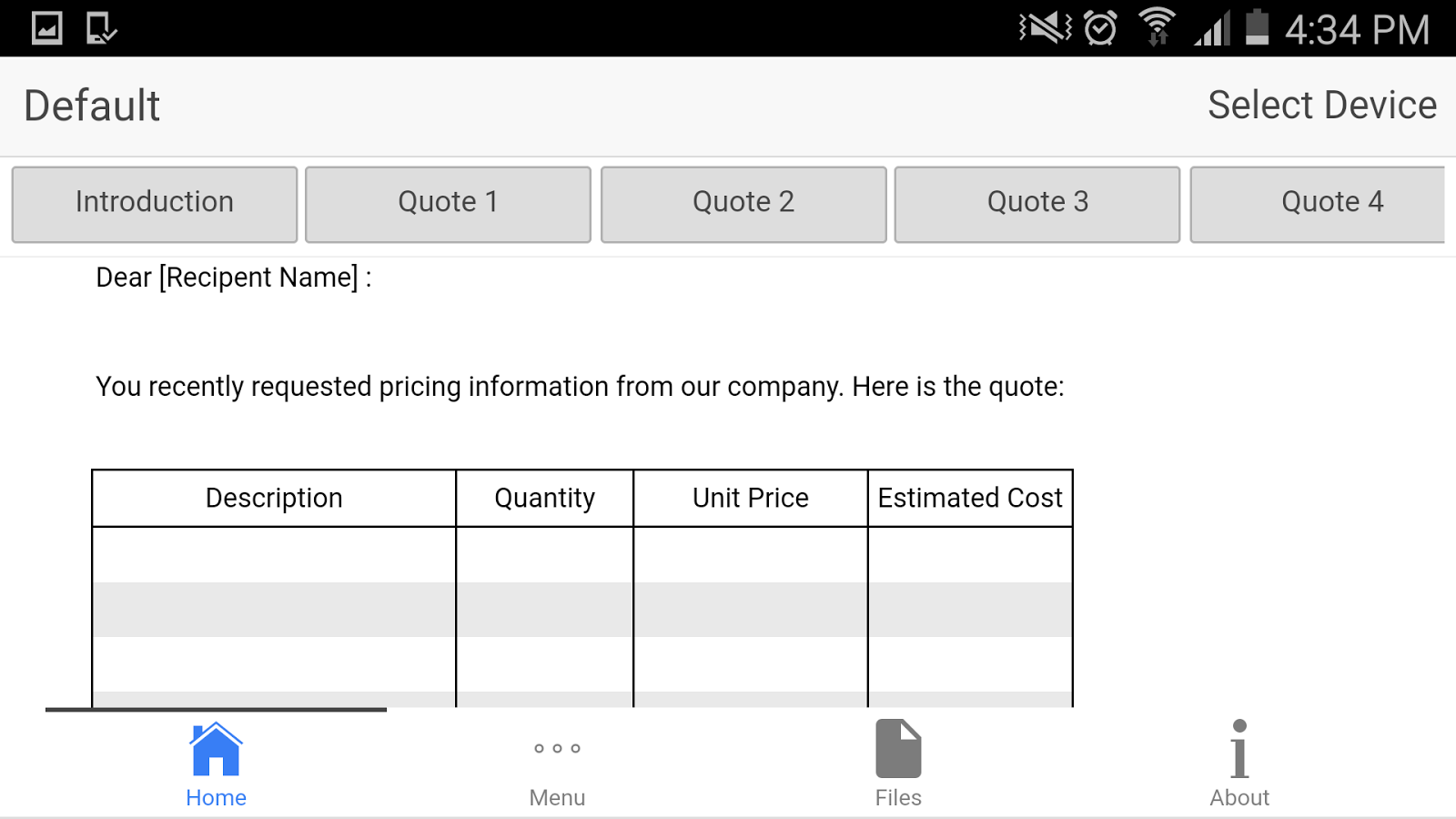 Price Quote Price Quote  Android Apps On Google Play