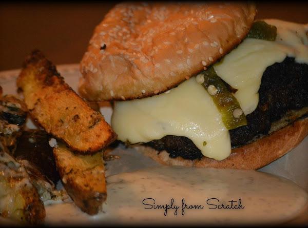 Poblano Pepper Burger Recipe