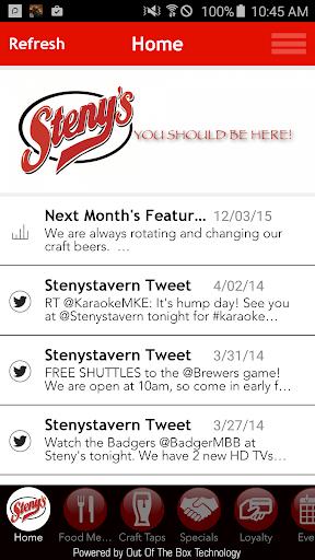Steny's Tavern Grill