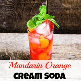Mandarin Orange Cream Soda