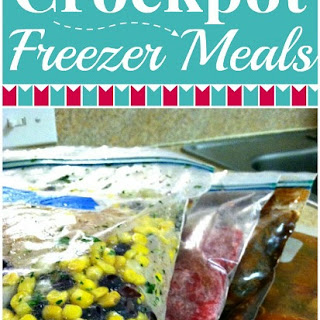 Crockpot Freezer Meals Recipe