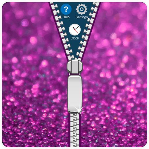 金葱拉链手机锁 工具 App LOGO-硬是要APP