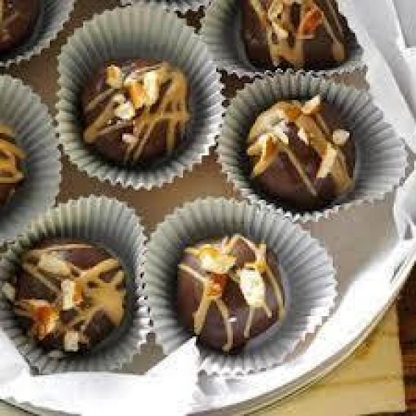 Yummy 64 Calorie Truffles (only 3 Ingredients!) Recipe