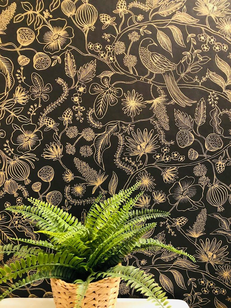 wallpaper close-up