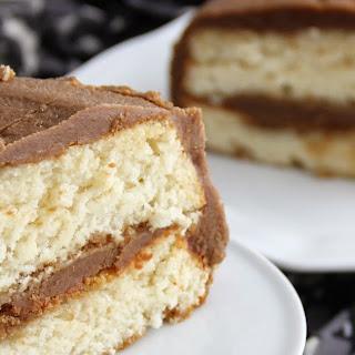 Vanilla-Espresso Chiffon Layer Cake