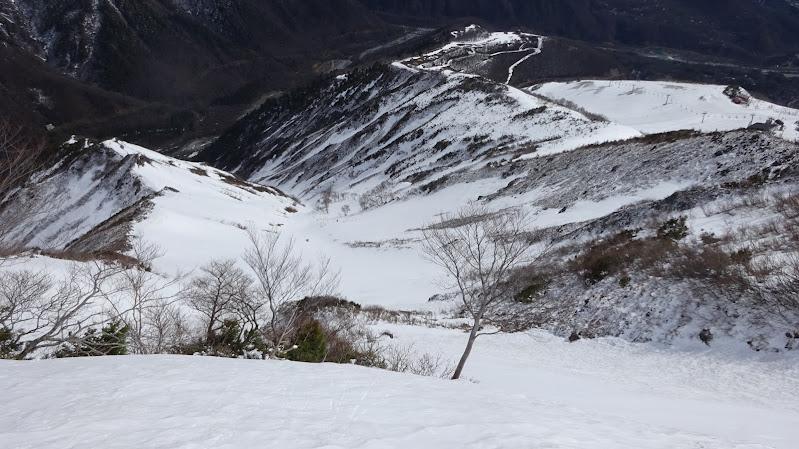 【八方尾根スキー場】バックカントリーコース