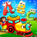 Learning Puzzle Game For preschoolers Kids icon