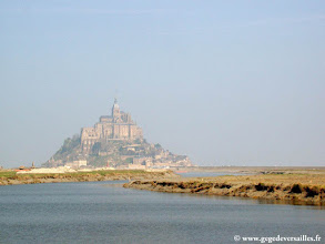 Photo: #001-Le Couesnon et le Mont Saint-Michel