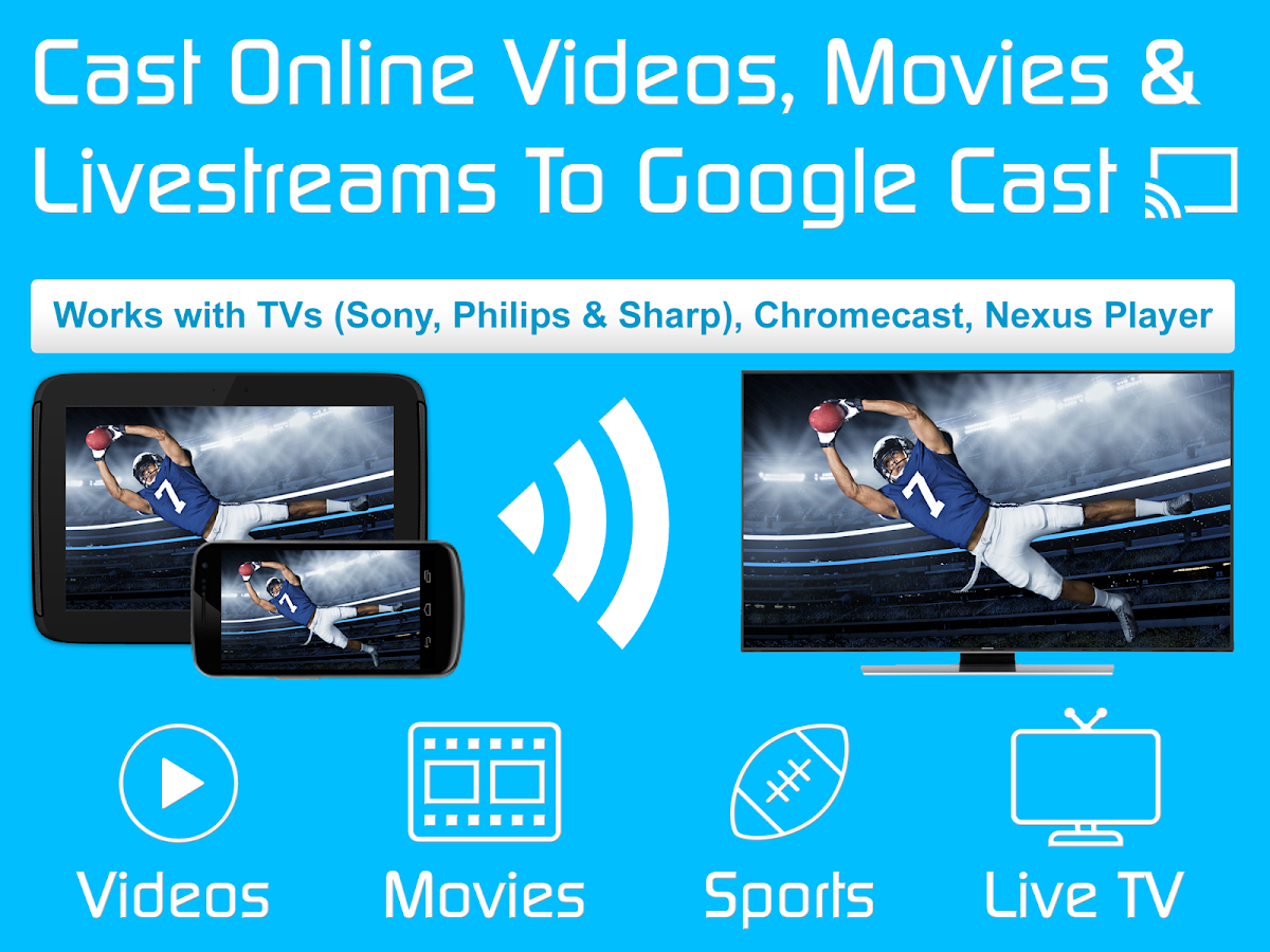 Video & TV Cast | Google Cast- screenshot