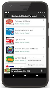 Radios Mexico - Radio FM / Mexican Radio Stations - náhled