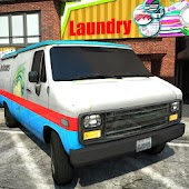 Laundry Van Delivery Simulator 3D Android APK Download Free By Games Factory INC.
