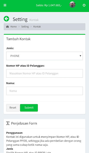 Portal Pulsa - Distributor Pulsa Termurah  screenshots 7