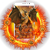 Flying Fire Dragon Theme