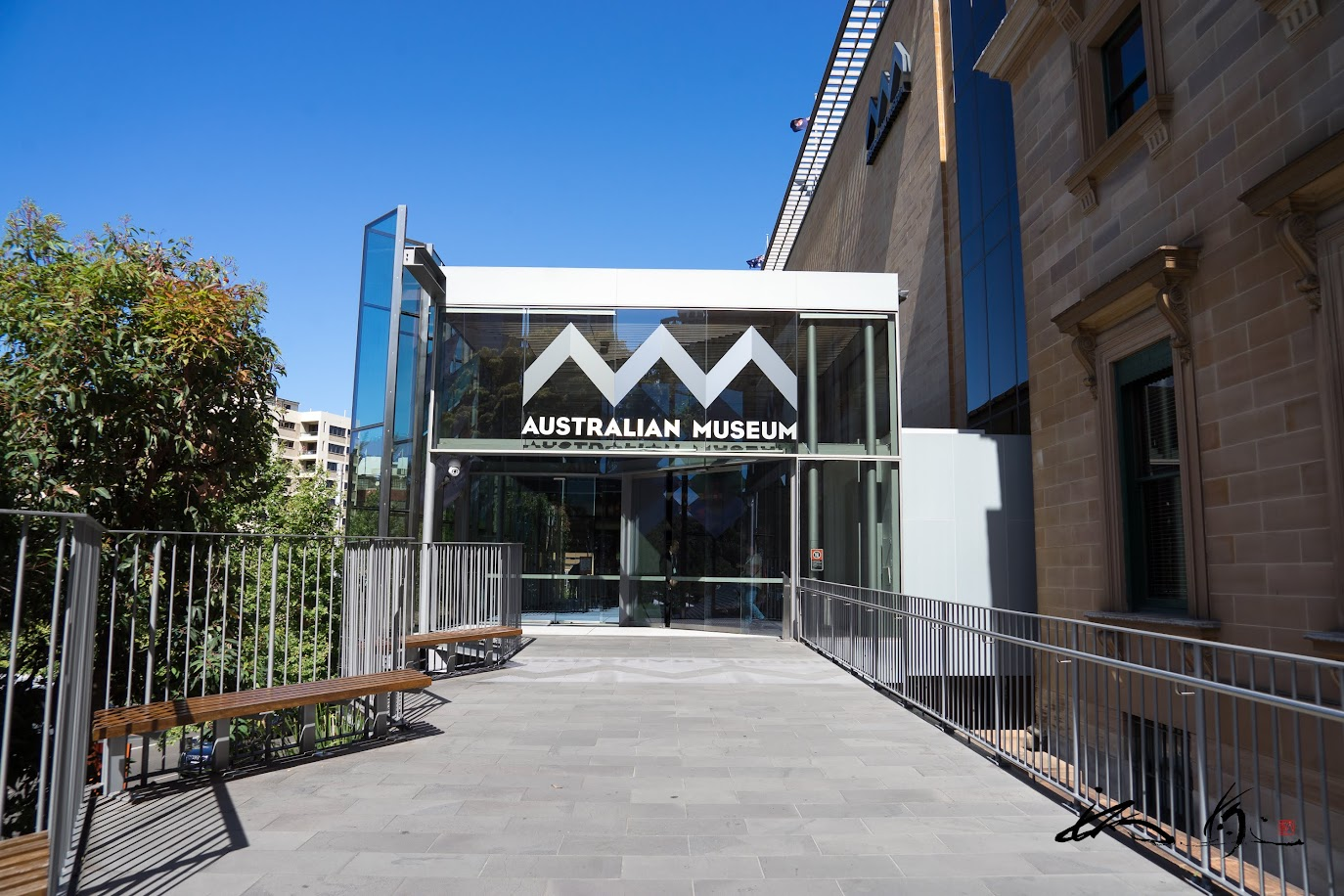 AUSTRALIAN MUSEUM 入り口