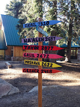 Photo: Habonim Machaneh Signpost