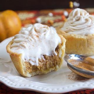 Pumpkin Pie Tarts.