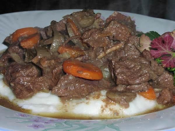 Beef Bourguignon (crock Pot) Recipe