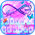 Infinity Butterfly Love Keyboard Theme icon