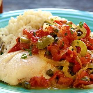 Veracruz-style Red Snapper