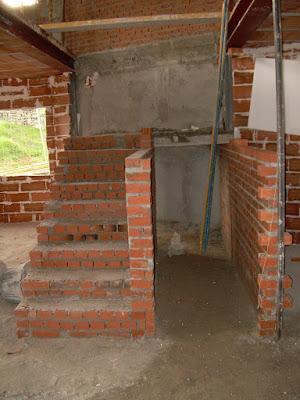 Escalera de ladrillo macizo aprende con sergio Construir una pileta de ladrillos
