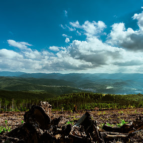 gabrovo by Kiril Kolev - Landscapes Mountains & Hills ( clouds, mountains, sky, landscapes, light, panoramic )
