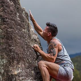 Don't Slip by Paul Milliken - Sports & Fitness Climbing ( climbing, mountain climbing, bouldering )