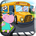 Kids School Bus Adventure icon