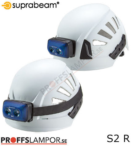 Hjälmlampa Suprabeam S2 rechargeable