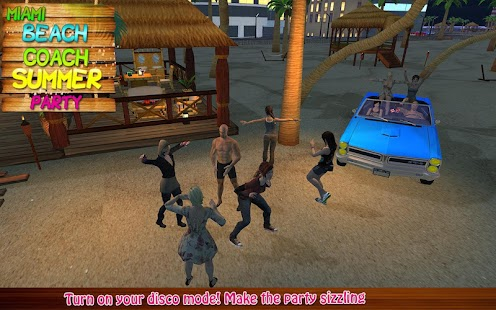fiesta en la playa de Miami Screenshot