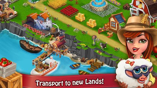 Farm Day Village Farming: Offline Games