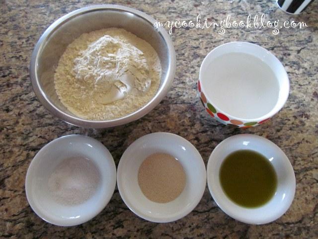 Питки с маслини и розмарин