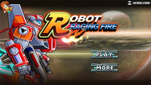 Toy RobotWar:Robot Raging Fire