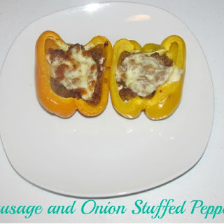 Primal Sausage and Onion Stuffed Peppers