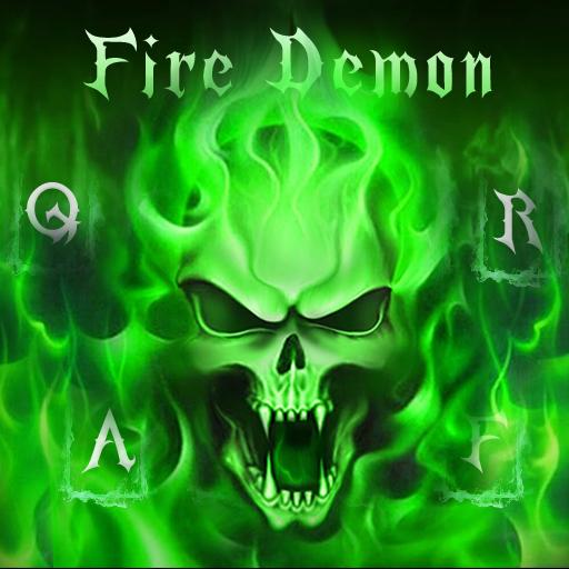 Fire Demon Keyboard Theme