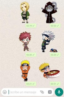 Stickers de Naruto para WhatsApp Screenshot