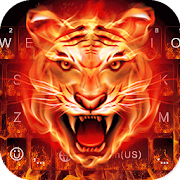 Cruel Tiger 3D Keyboard Theme