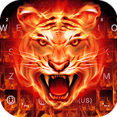 Cruel Tigre 3D Keyboard Theme