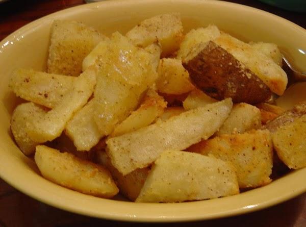 Golden Parmesan Potatoes Recipe