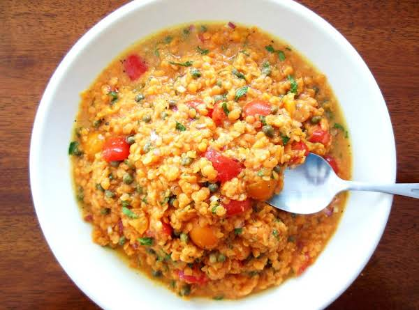 Spicy Hana's Red Lentil Salad