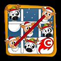 Pig Cow Toe Christmas 🎄 Tic Tac Toe 🐷🐮 icon