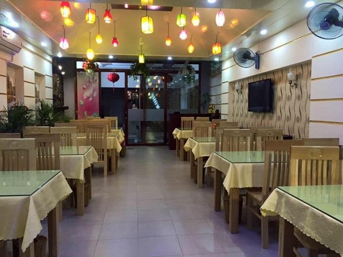 Cháy chay Đà Nẵng - An Lạc Tâm với không gian sang trọng