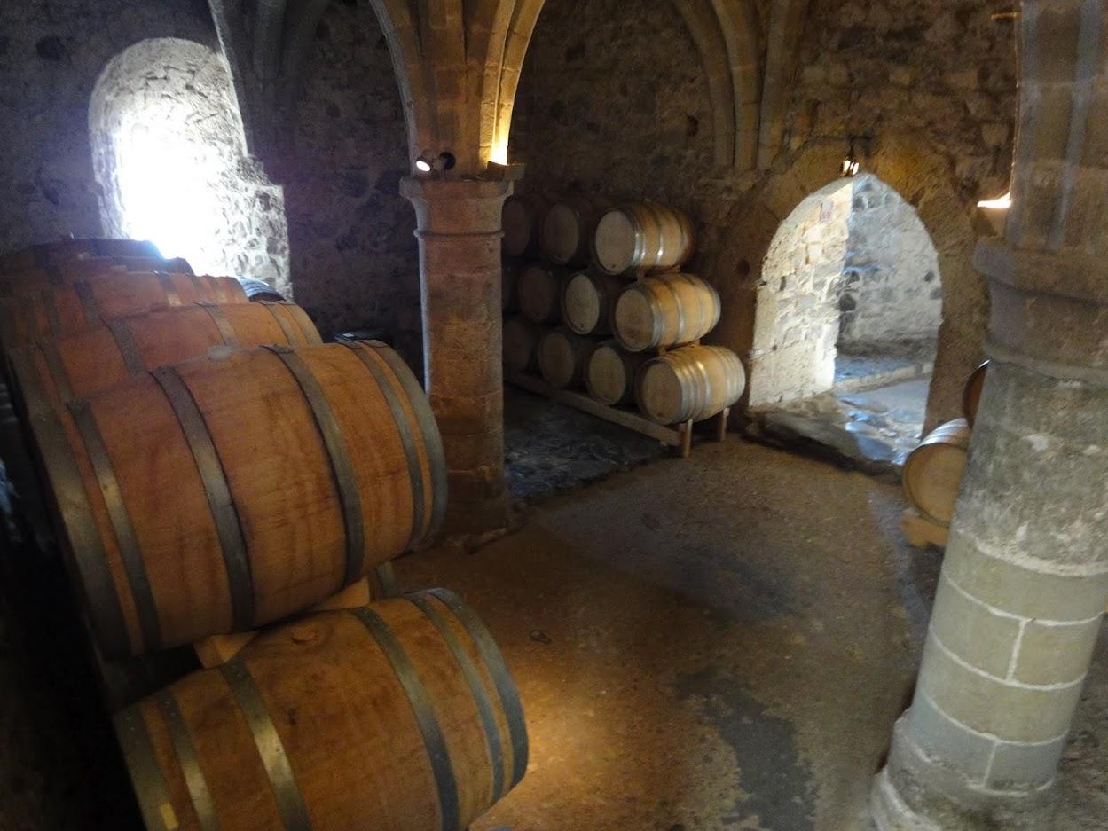Cave au Château de Chillon