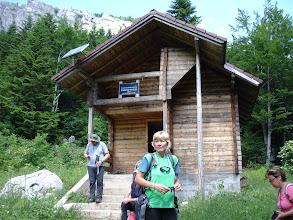 Photo: planinarska kuća Pešino vrilo (1375 m) - u blizini je izvor vode