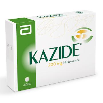 Kazide 200mg Tableta   Caja x6tab. Lafrancol Nitazoxanida