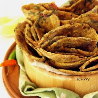 Garlic Chard Roti/Flat Bread Recipe